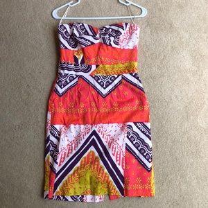 Trina Turk dress and purse